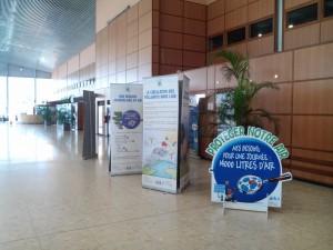 Expo aéroport Félix Eboué